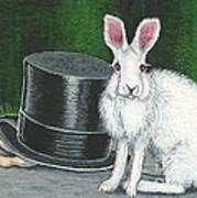 Mad March Hare -- Now You See How It Feels Print by Sherry Goeben