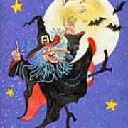 Mad Millie Moon Dance Print by Richard De Wolfe