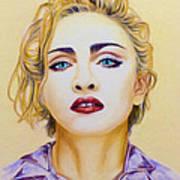 Madonna Print by Rebelwolf