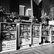 magazine stands free coupons guides and escort directories Las Vegas Nevada USA Print by Joe Fox