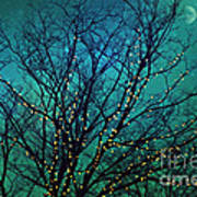 Magical Night Print by Sylvia Cook