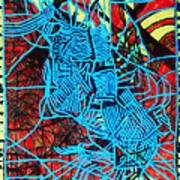 Maiden In Blue - Mary In The Temple Print by Gloria Ssali