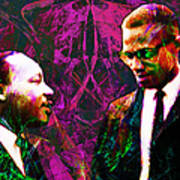 Malcolm And The King 20140205m68 Print by Wingsdomain Art and Photography