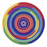 Mandala 3 Print by Rozita Fogelman
