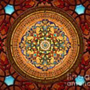Mandala Arabia Sp Print by Bedros Awak