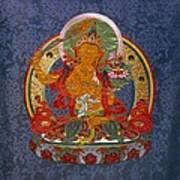 Manjushri Print by Leslie Rinchen-Wongmo