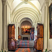 Mansion Hallway IIi Print by Adrian Evans