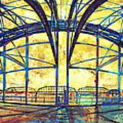 Market Street Bridge Arch Print by Steven Llorca