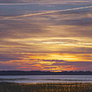 Marsh Sunset Print by Phill Doherty