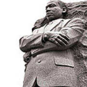 Martin Luther King Memorial Statue Print by Olivier Le Queinec