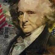 Martin Van Buren Print by Corporate Art Task Force