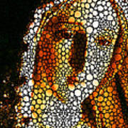 Mary - Holy Mother By Sharon Cummings Print by Sharon Cummings
