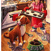 Mary Mary Quite On Great Meals Print by David Condry