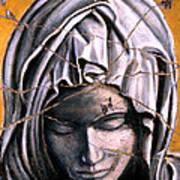 Mary Super Petram - Study No. 1 Print by Steve Bogdanoff