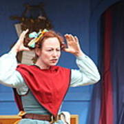 Maryland Renaissance Festival - A Fool Named O - 121217 Print by DC Photographer