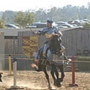 Maryland Renaissance Festival - Jousting And Sword Fighting - 1212160 Print by DC Photographer