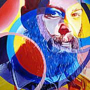 Matisyahu In Circles Print by Joshua Morton