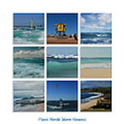 Maui North Shore Hawaii Print by Sharon Mau