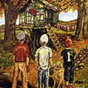 Meadow Haven Print by Linda Simon