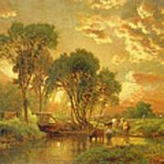 Medfield Massachusetts Print by Inness