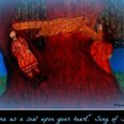 Meditation Number 3 Song Of Songs Print by Maryann  DAmico