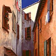 Mediterranean Blue Print by Michael Swanson
