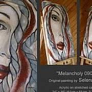 Melancholy 090409 Print by Selena Boron