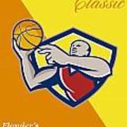 Memorial Day Basketball Classic Poster Print by Aloysius Patrimonio