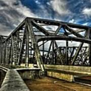 Memphis - Memphis And Arkansas Bridge 002 Print by Lance Vaughn