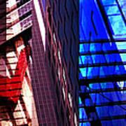 Merged - City Blues Print by Jon Berry OsoPorto