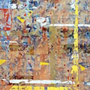 Messy Background Print by Carlos Caetano