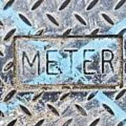 Meter Cover Print by Tom Gowanlock