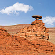 Mexican Hat Rock Print by Christine Till
