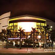 Miami Heat Aa Arena Print by Andres LaBrada