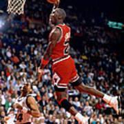 Michael Jordan  Print by Paint Splat