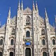 Milan Cathedral  Print by Antonio Scarpi