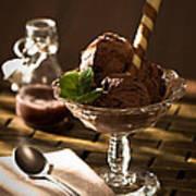 Mint Choc Chip Ice Cream Print by Amanda And Christopher Elwell
