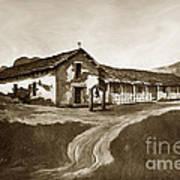 Mission San Rafael California  Circa 1880 Print by California Views Mr Pat Hathaway Archives