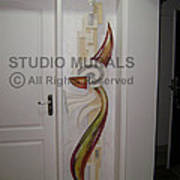 Mixed Media Mural Print by Milind Badve