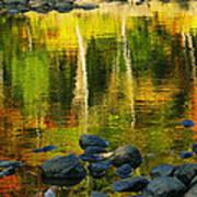 Monet Autumnal 02 Print by Aimelle