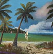 Montego Bay Print by Gordon Beck
