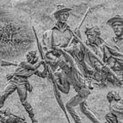 Monuments On The Gettysburg Battlefield Ver 2 Print by Randy Steele
