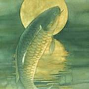 Moon Koi Print by Robert Hooper