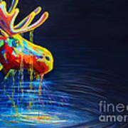 Moose Drool   Print by Teshia Art
