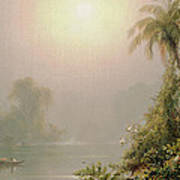 Morning In The Tropics Print by Frederic Edwin Church