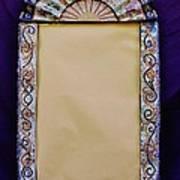 Mosaic Fan Frame Print by Charles Lucas