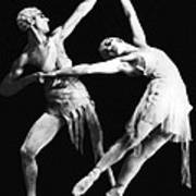 Moscow Opera Ballet Dancers Print by Underwood Archives