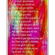 Mother If I Could Give You 2 Print by Barbara Griffin