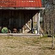 Mountain Cabin In Tennessee 3 Print by Douglas Barnett