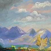 Mountain Dream Print by Patricia Kimsey Bollinger